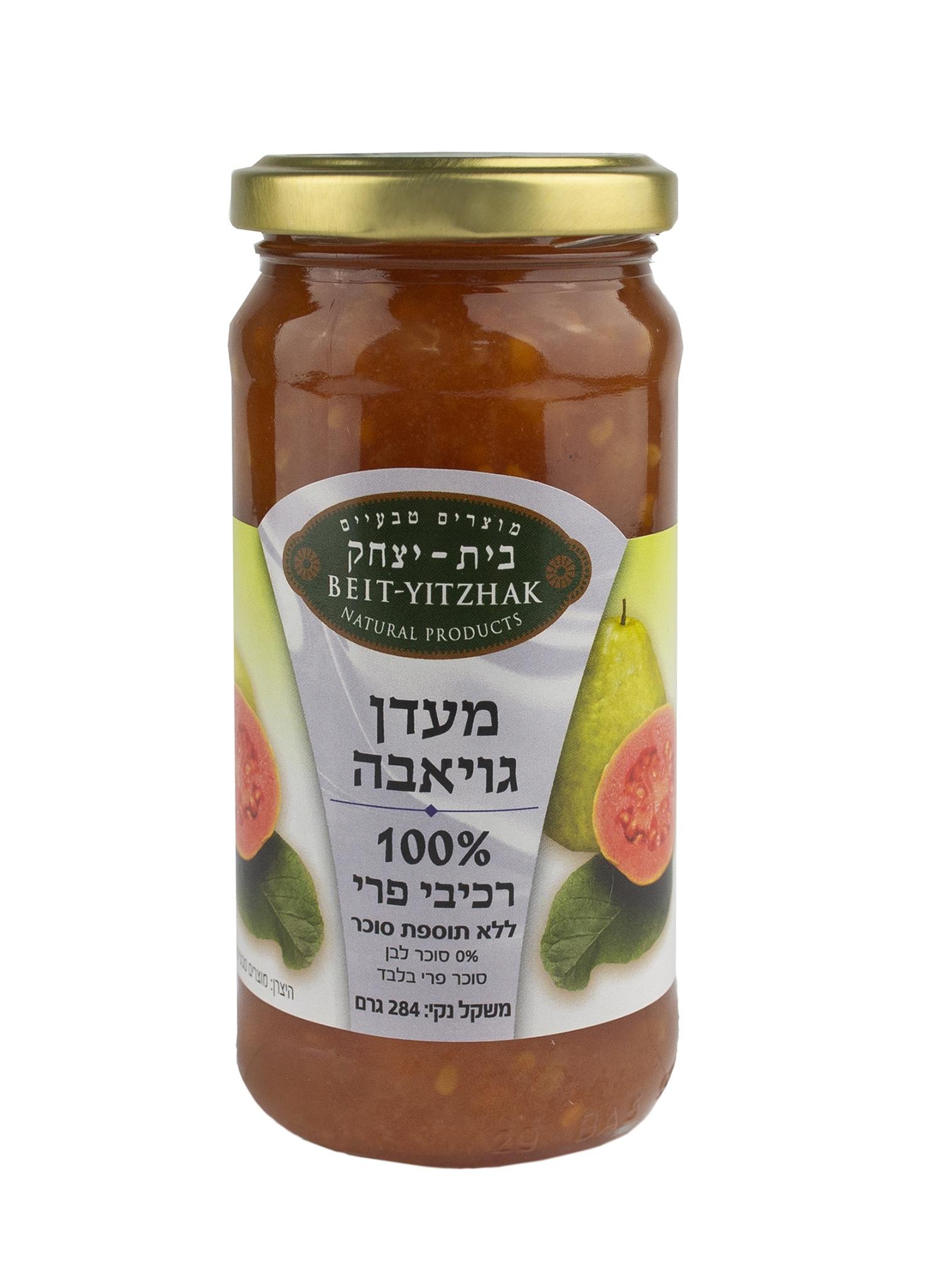 Джем Natural Products Beit Yitzhak LTD «Гуава» 100% без сахара Стеклянная банка, 284