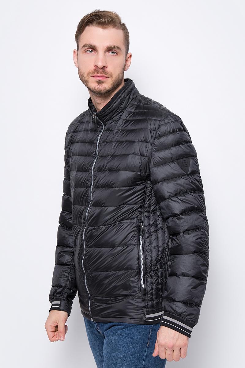 Куртка мужская Pierre Cardin, цвет: черный. 047.67470.3984.2000. Размер 46047.67470.3984.2000