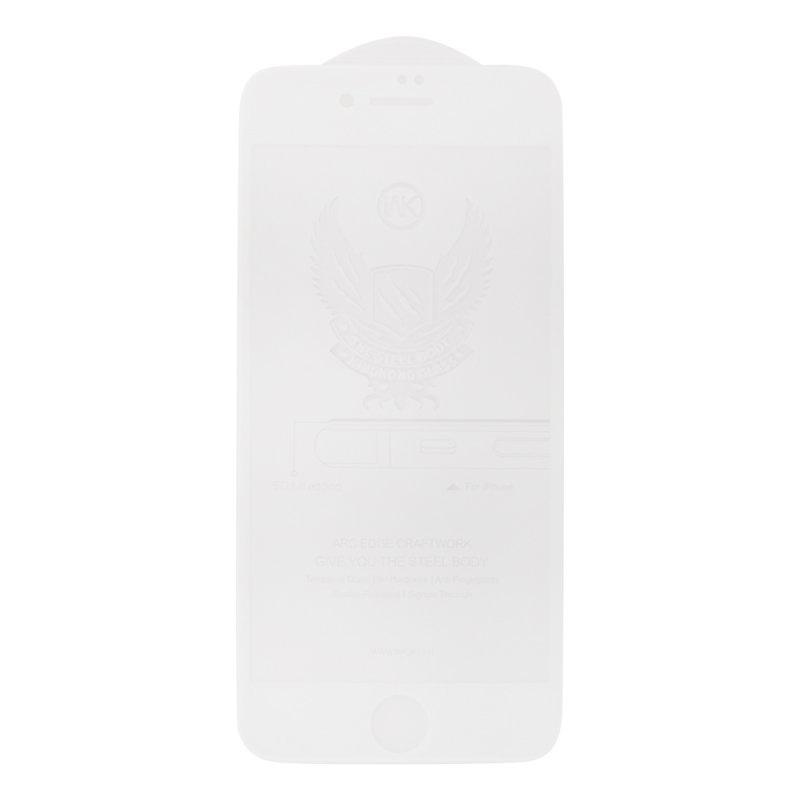 Защитное стекло WK для iPhone 7/8 WK Kingkong Series 5D Full Cover Curved Edge Tempered Glass, 0L-00039527, белый защитное стекло wk для iphone 7 8 wk kingkong series 5d full cover curved edge tempered glass 0l 00039527 белый