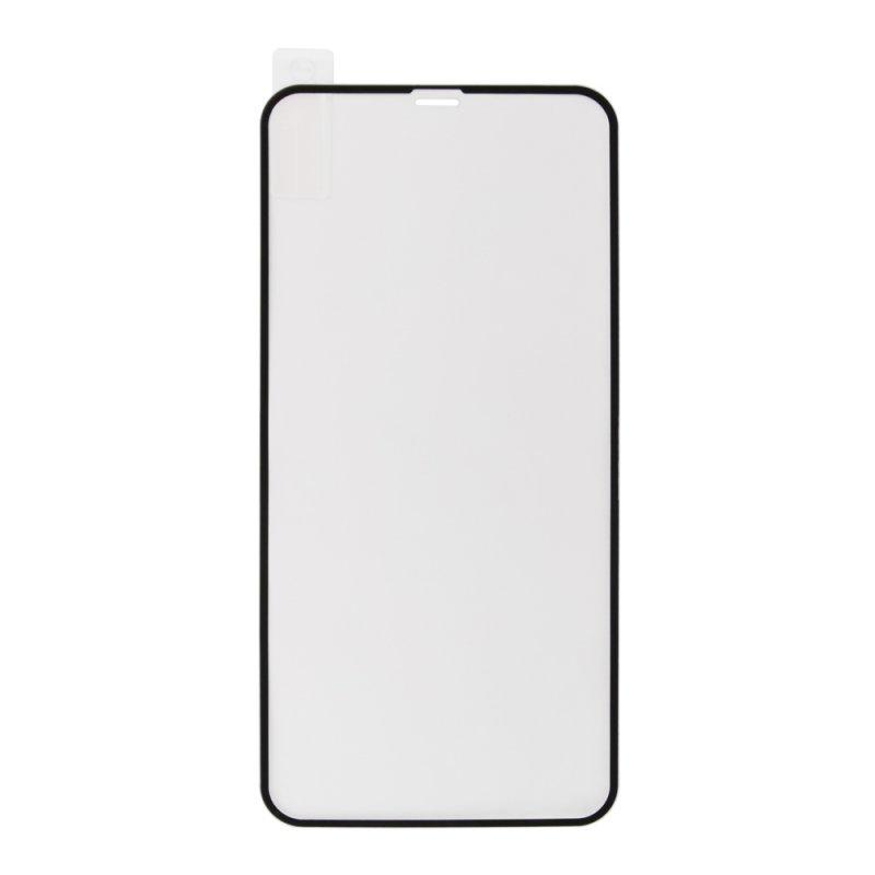 """Защитное стекло """"LP"""" для iPhone Xs Max Tempered Glass с рамкой 0,33 мм 9H (черное/ударопрочное)"""