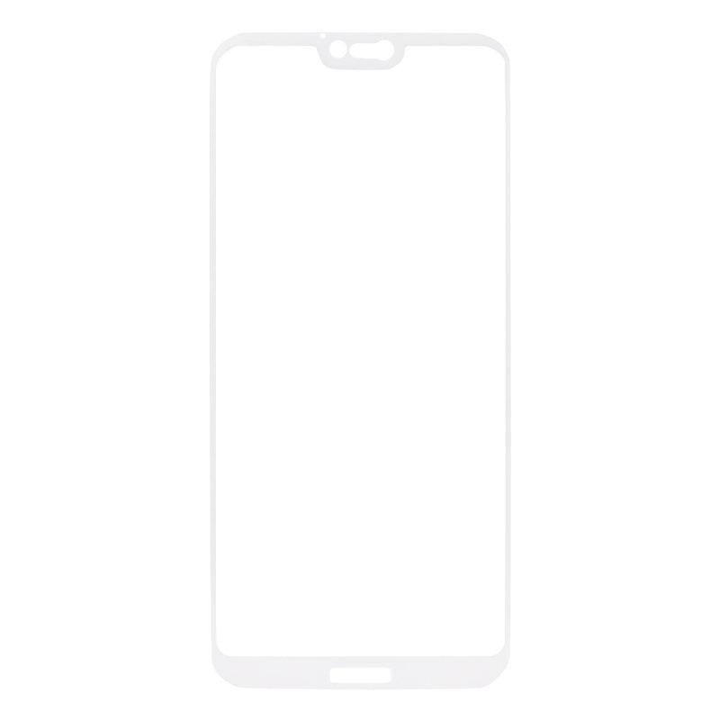 "Защитное стекло ""LP"" для Huawei P20 Lite Tempered Glass 0,33 мм 9H (белая рамка)"