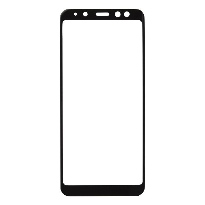 "Защитное стекло ""LP"" для Samsung Galaxy A8 (A530) Tempered Glass 0,33 мм, 9H (черная рамка)"