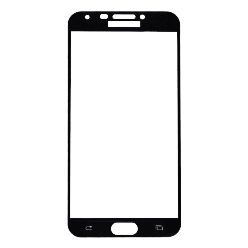 "Защитное стекло ""LP"" для Samsung Galaxy J4 SM-J400FZKHSER Tempered Glass 0,33 мм 9H (черная рамка)"