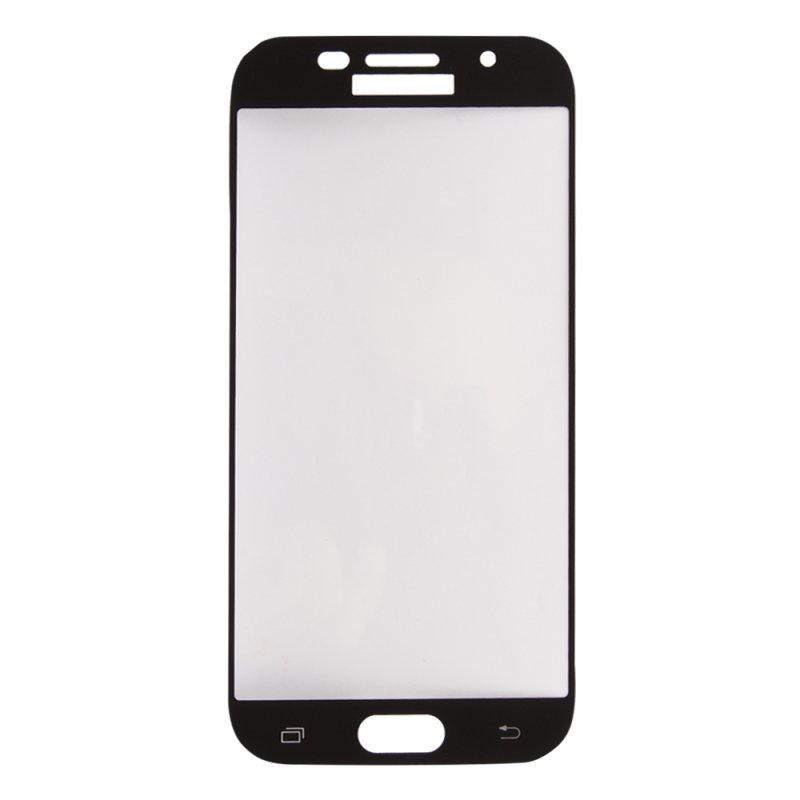 "Защитное стекло ""LP"" для Samsung Galaxy A5 2017 (A520) Tempered Glass 0,33 мм, 9H (черная рамк"