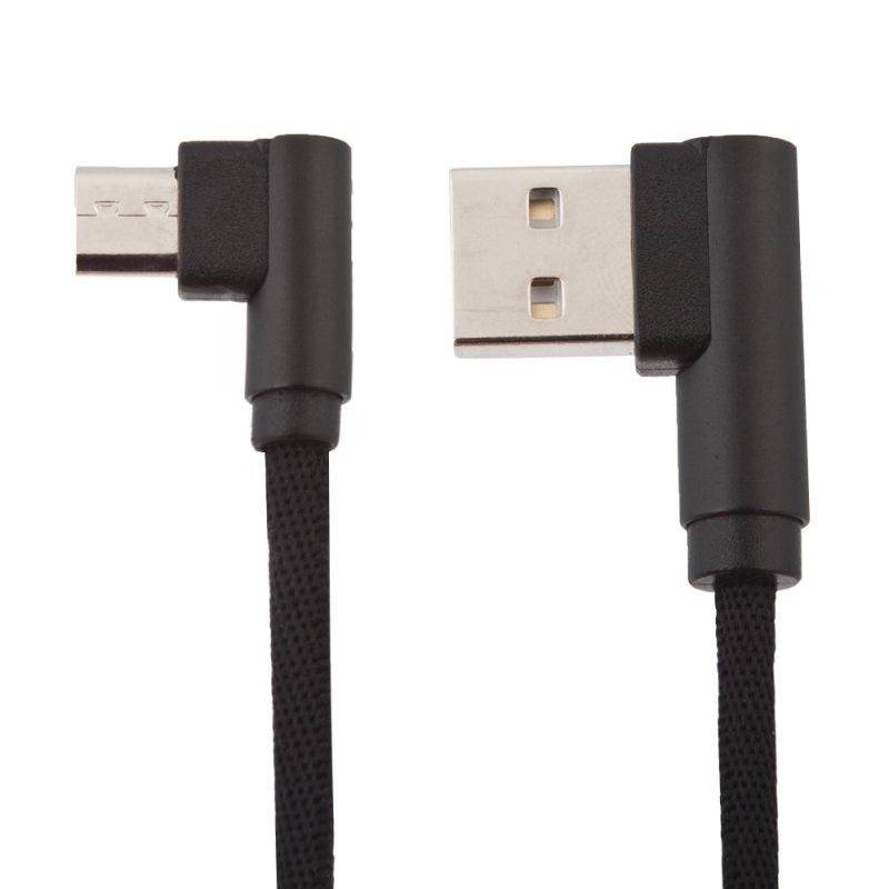 цены на USB Кабель Inkax Nunchaku CK-32 двухсторонние Г-разъемы Micro USB, 0L-00040065, черный  в интернет-магазинах