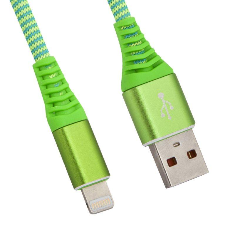 "USB кабель Liberty Project ""Носки"" Apple 8 pin, 0L-00038859, зеленый"