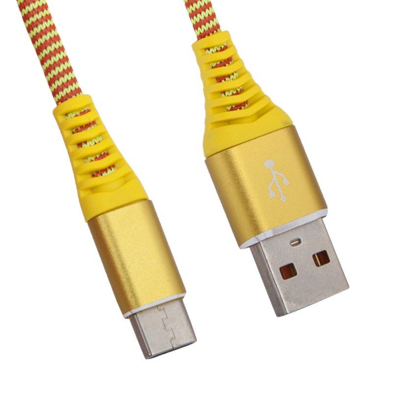 "USB кабель Liberty Project ""Носки"" USB Type-C, 0L-00038898, желтый"