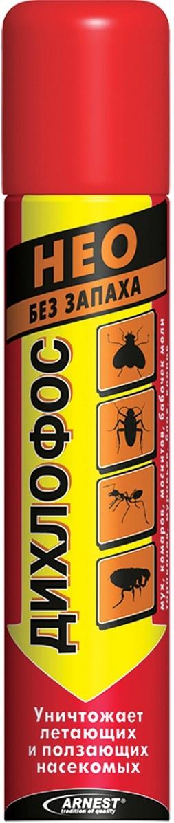 Средство от насекомых Дихлофос Нео, 190 мл, от летающих и ползающих насекомых аэрозоль от ползающих и летающих насекомых raid лаванда 300 мл