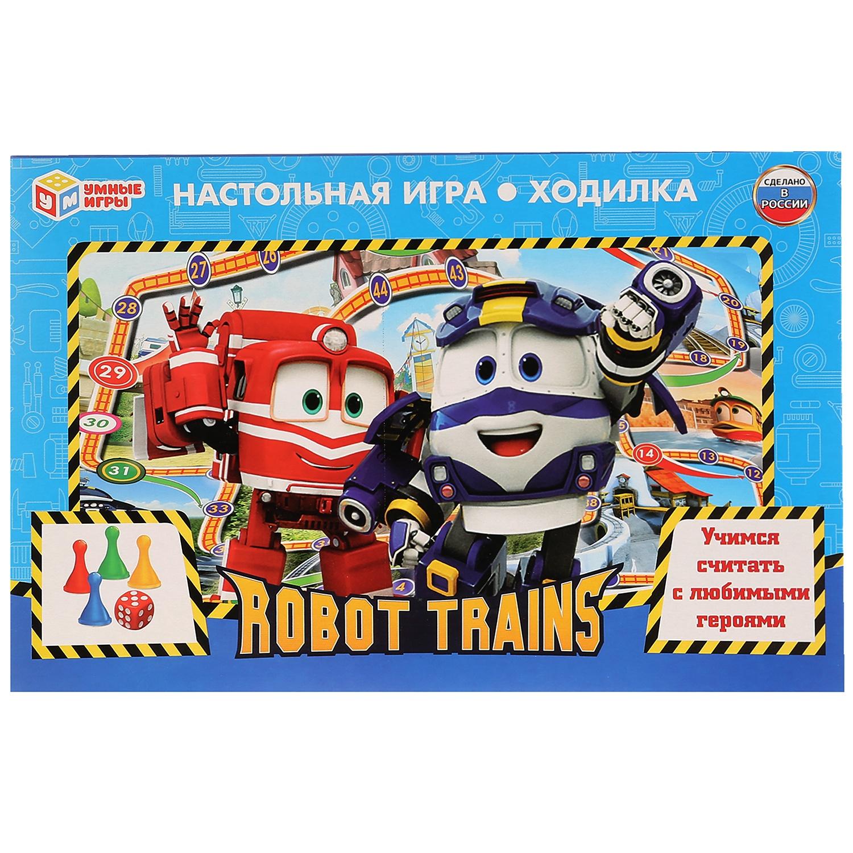 Настольная игра Умка Робот трейнс, 266769 робот трейнс
