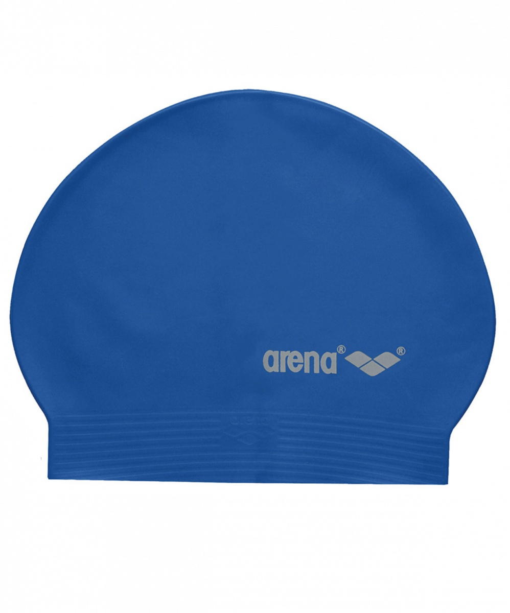 Шапочка для плавания Arena Soft Latex, УТ-00009544, Royal/Silver