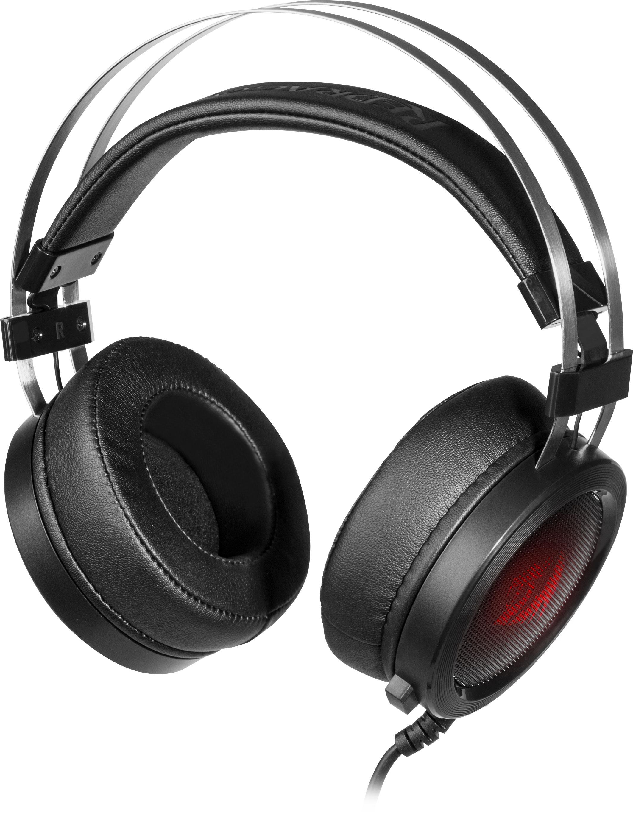 Игровая гарнитура Redragon Scylla черный+красный, кабель 2 м