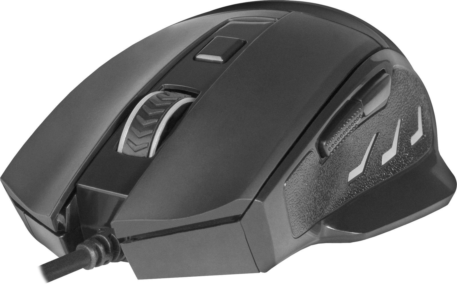 Игровая мышь Redragon Phaser оптика,6кнопок,1000-3200dpi, 75169, черный