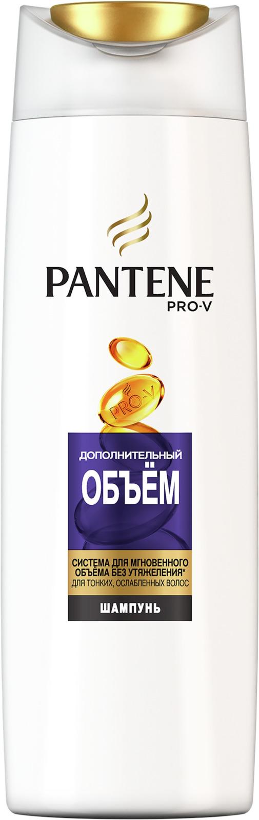 Шампунь Pantene Pro-V Дополнительный объем, для тонких волос, 400 мл