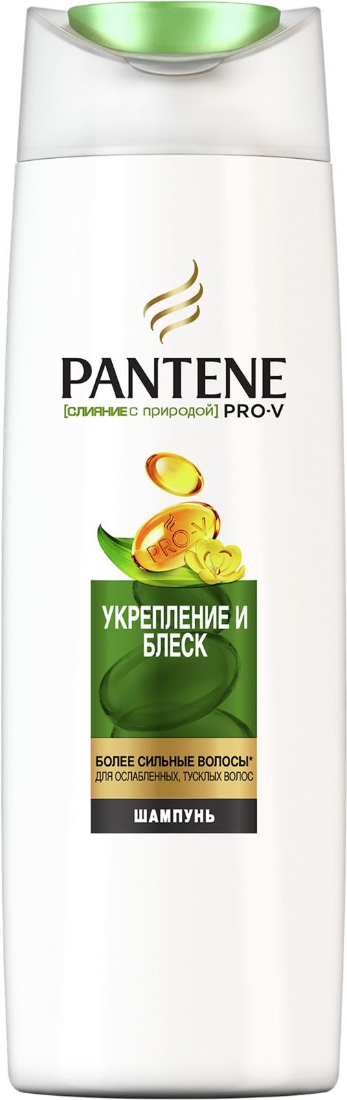 Шампунь Pantene Pro-V Слияние с природой. Укрепление и блеск, 400 мл