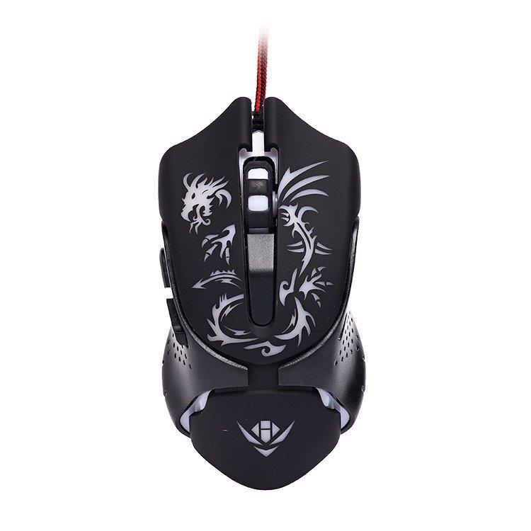 лучшая цена Игровая мышь Nakatomi MOG-25U, черный