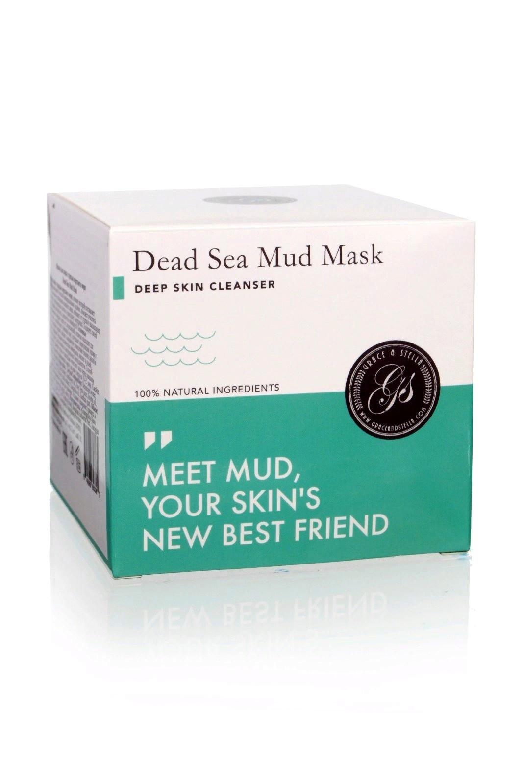 Маска косметическая Grace and Stella Очищающая маска для лица с грязью мертвого моря Dead Sea Mud Mask