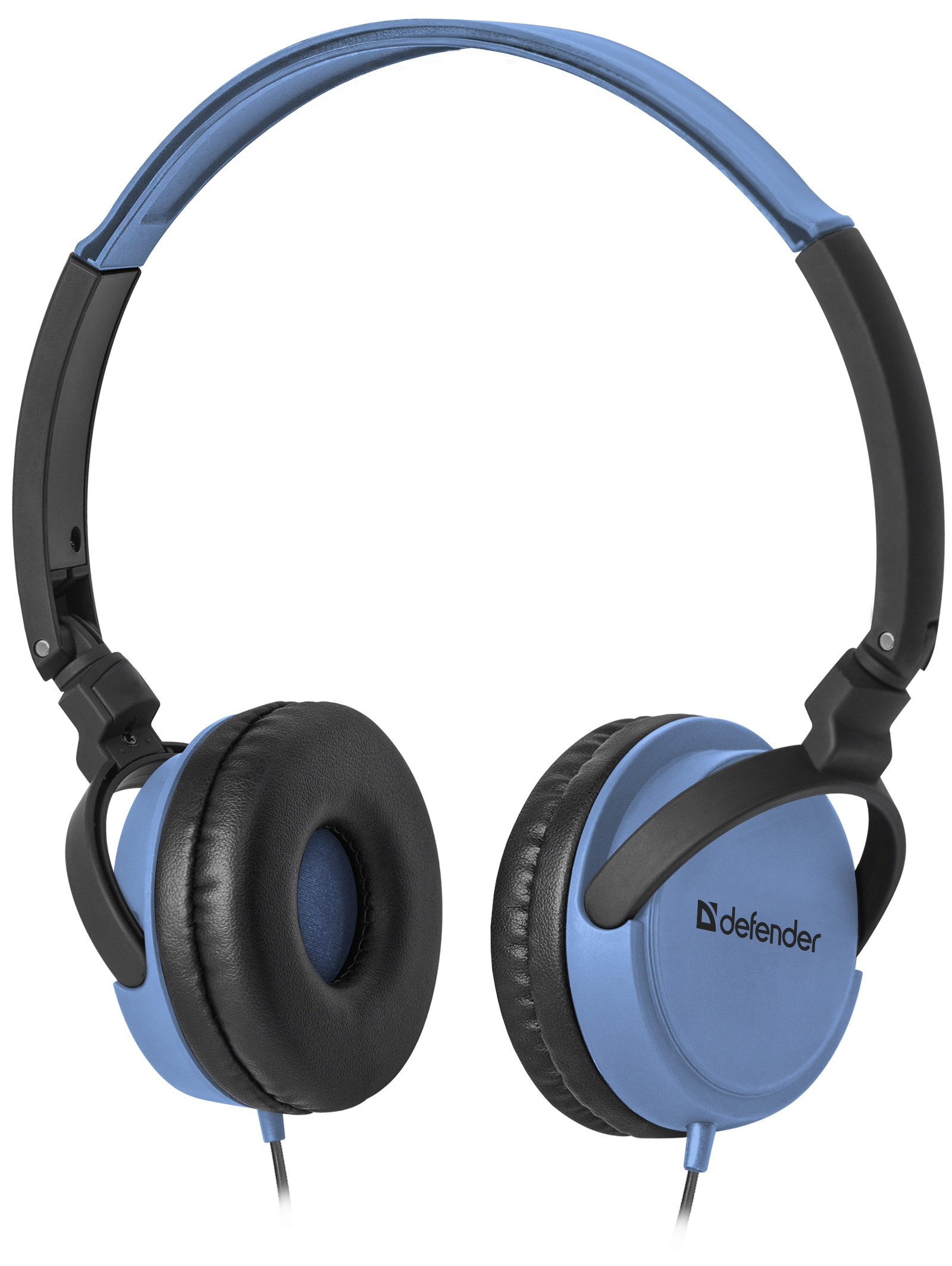 Фото - Наушники Defender Accord 160, 63161, синий азу для планшетов и ноутбуков
