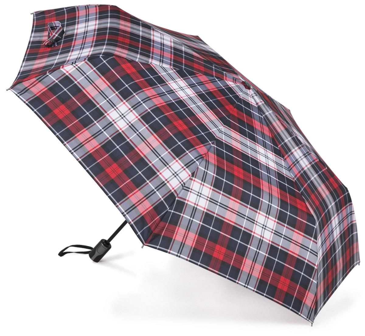 Зонт Три слона 367-D, синий, красный, белый