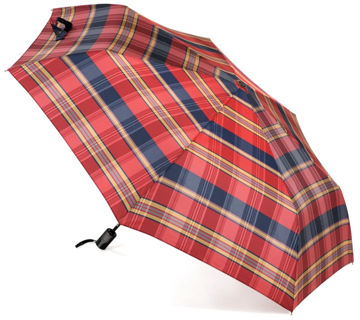 Зонт Три слона 367-D, красный, синий