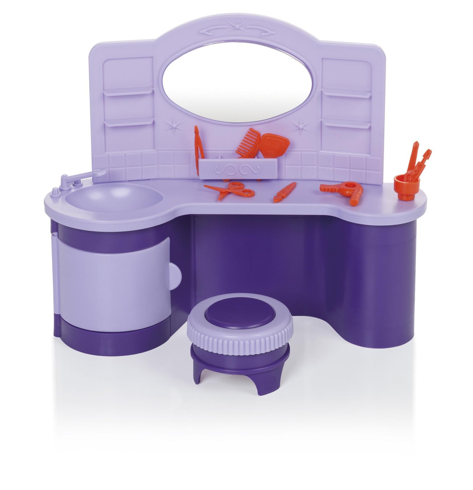 Салон парикмахерская Огонек С-1421, сиреневый, фиолетовый