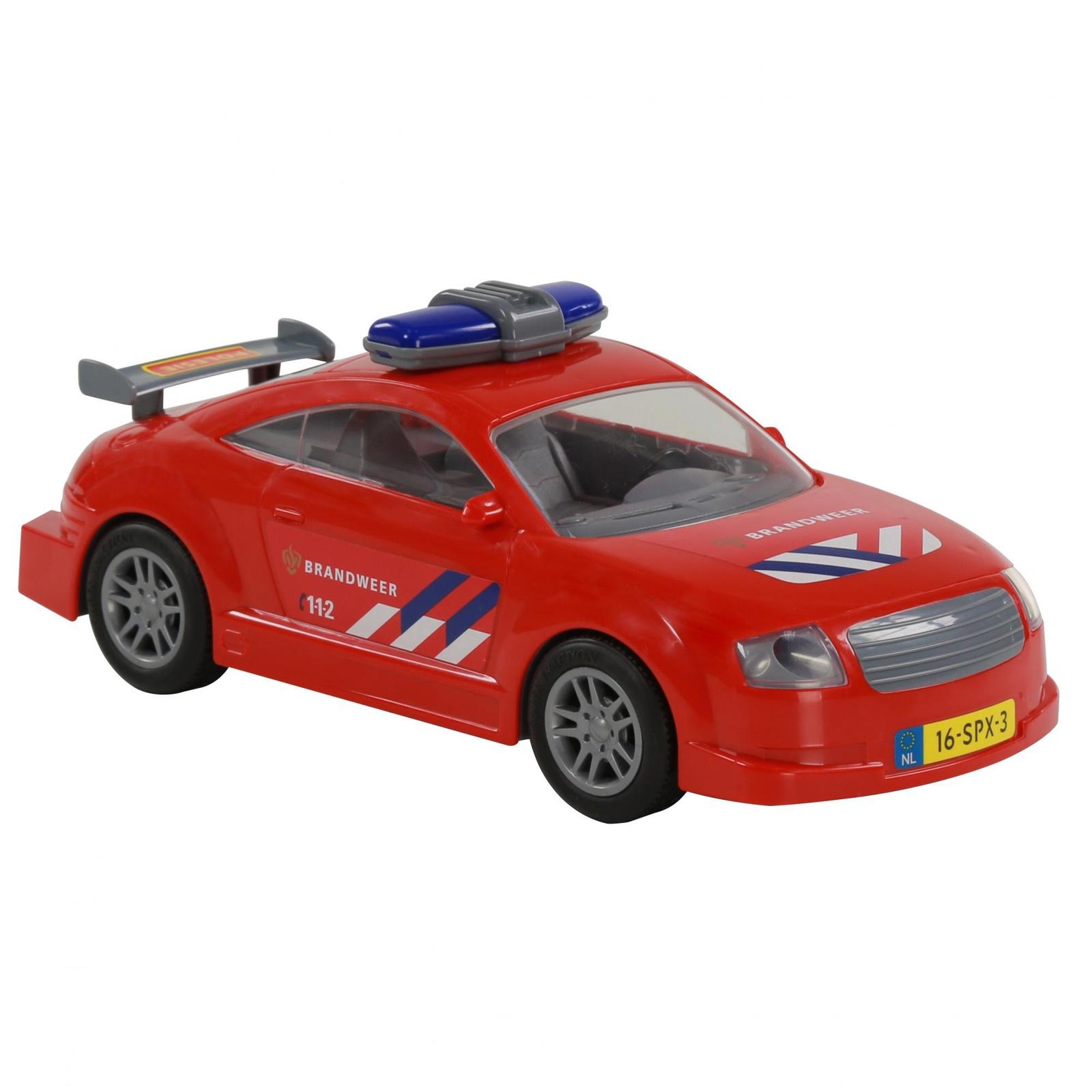 Автомобиль Polesie Пожарный 71286_PLS, инерционный, красный71286_PLSВ комплекте машинка