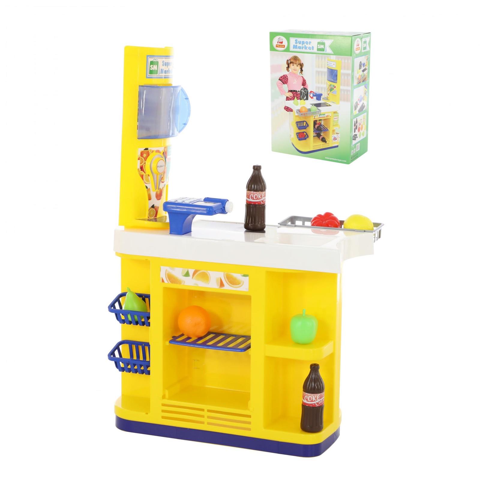 Набор Palau Toys Супермаркет-макси 69757_PLS, желтый игровой набор playgo супермаркет