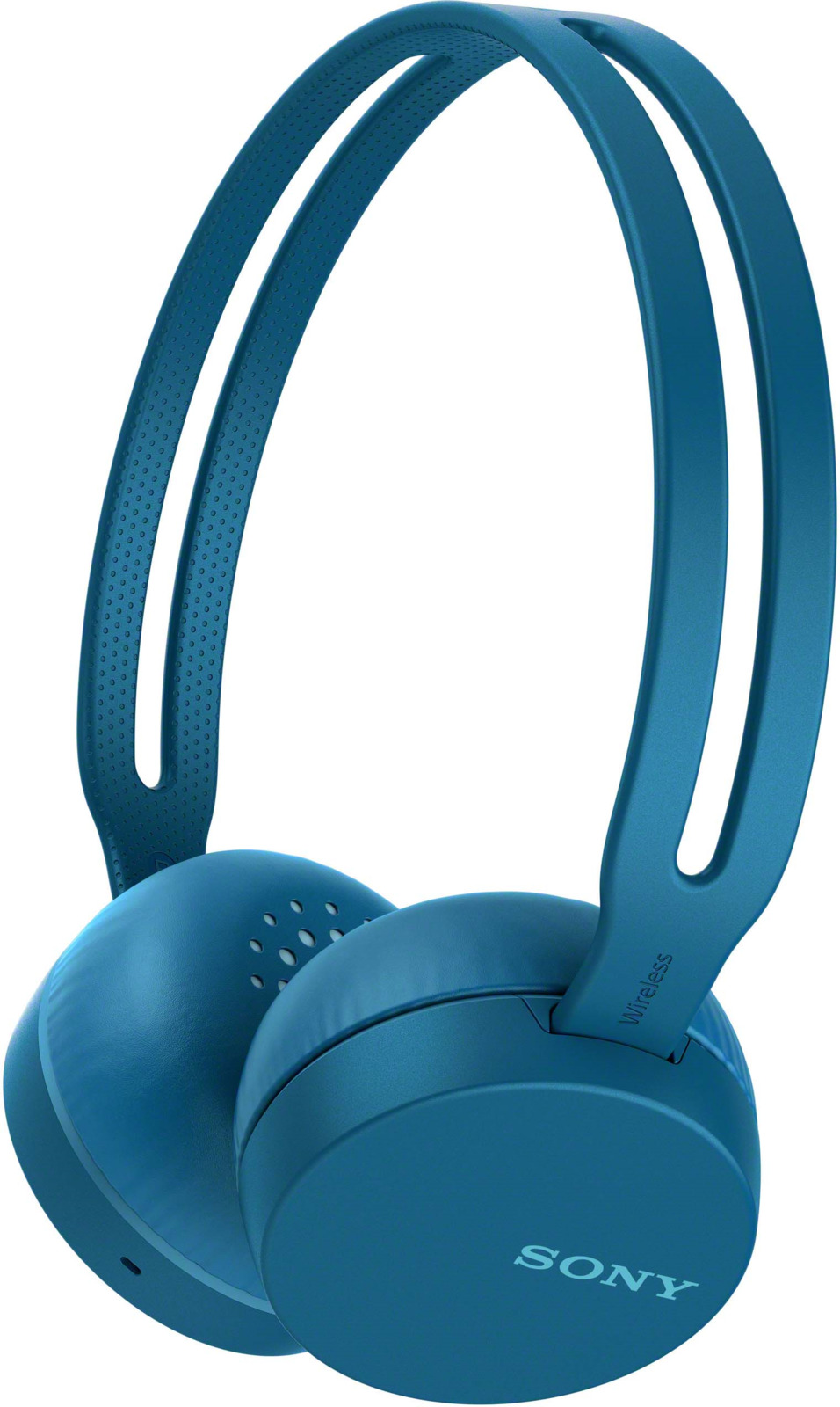 Беспроводные наушники Sony WH-CH400, цвет синий цена и фото