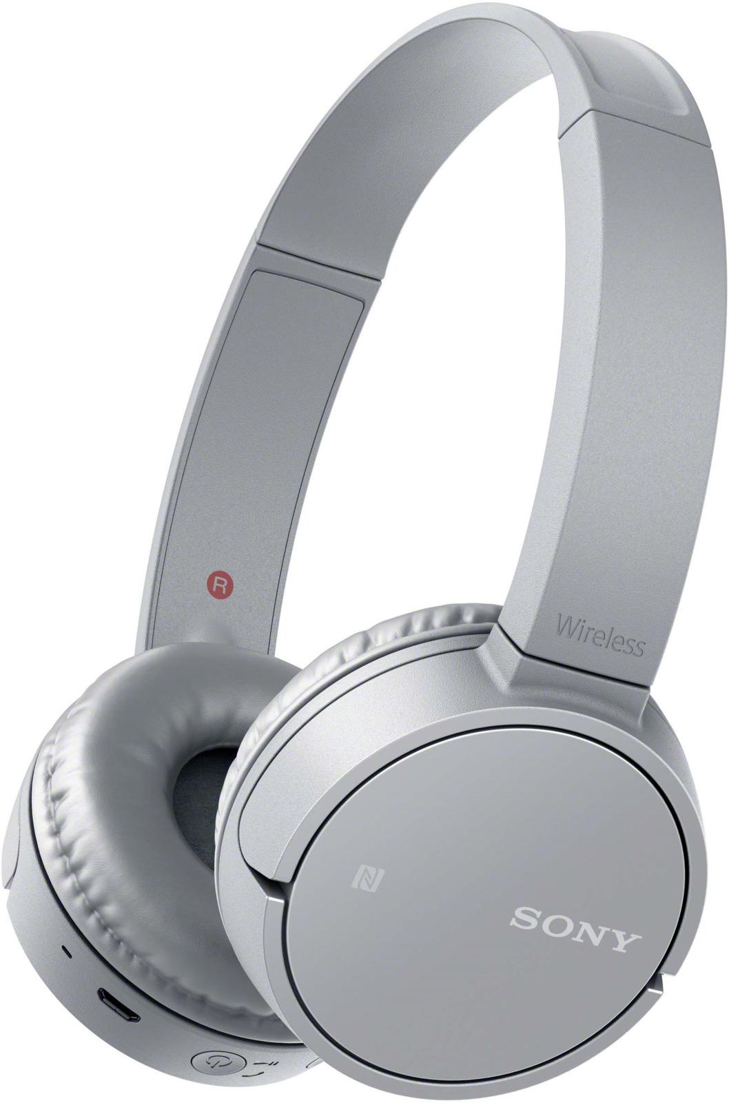 Беспроводные наушники Sony WH-CH500, цвет серый цена и фото