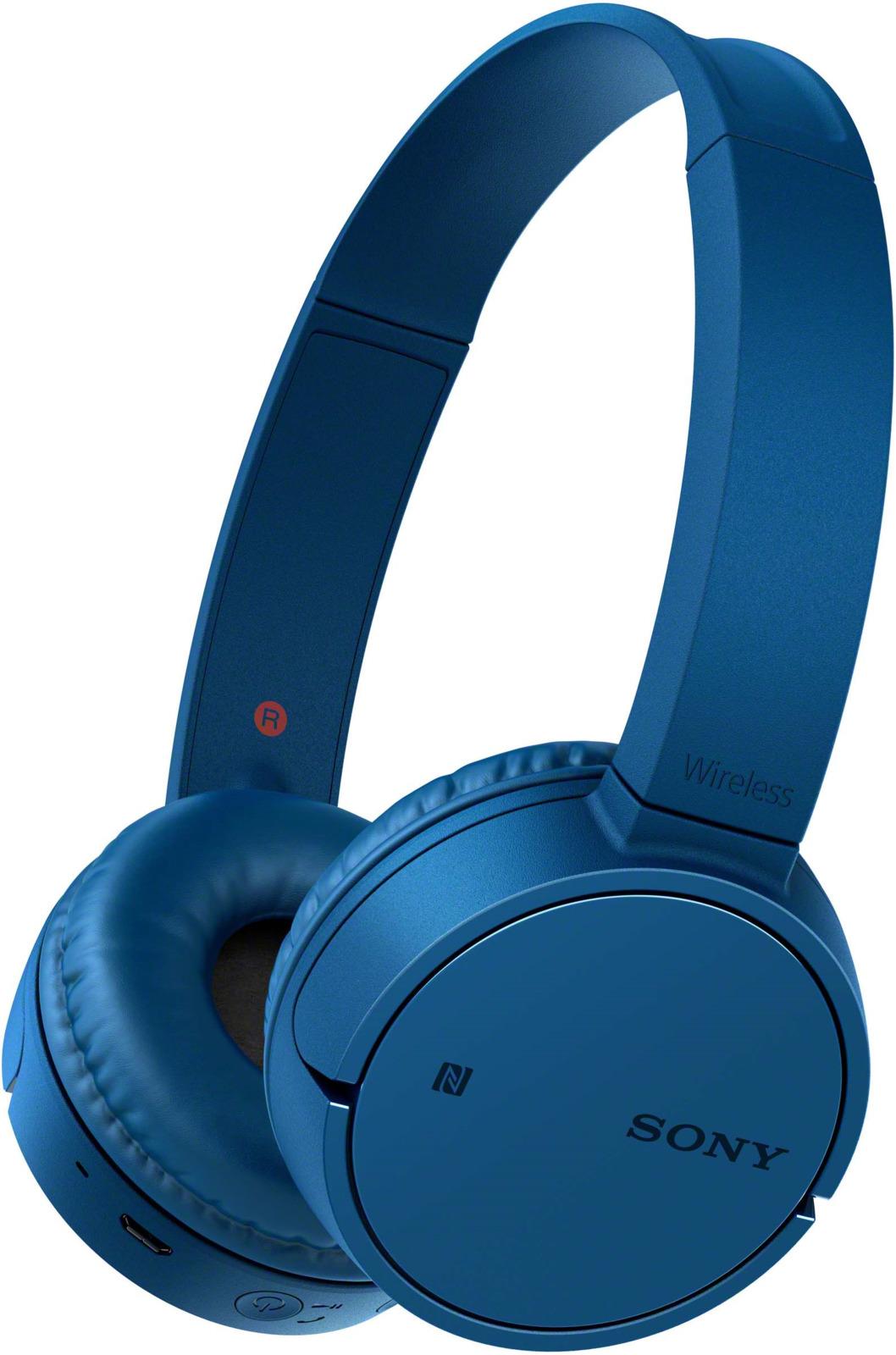 Беспроводные наушники Sony WH-CH500, цвет синий цена и фото