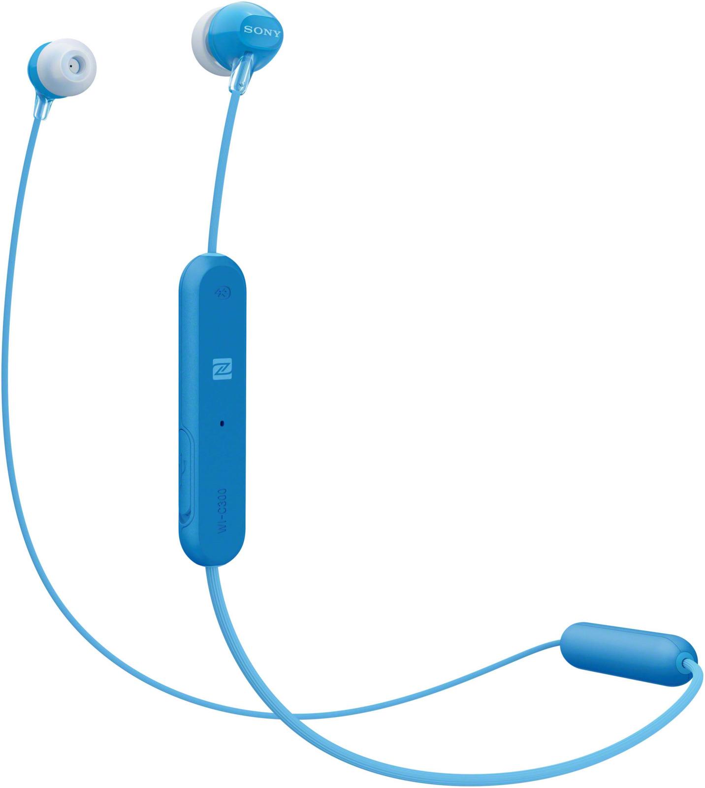 Беспроводные наушники-вкладыши Sony WI-C300, цвет синий