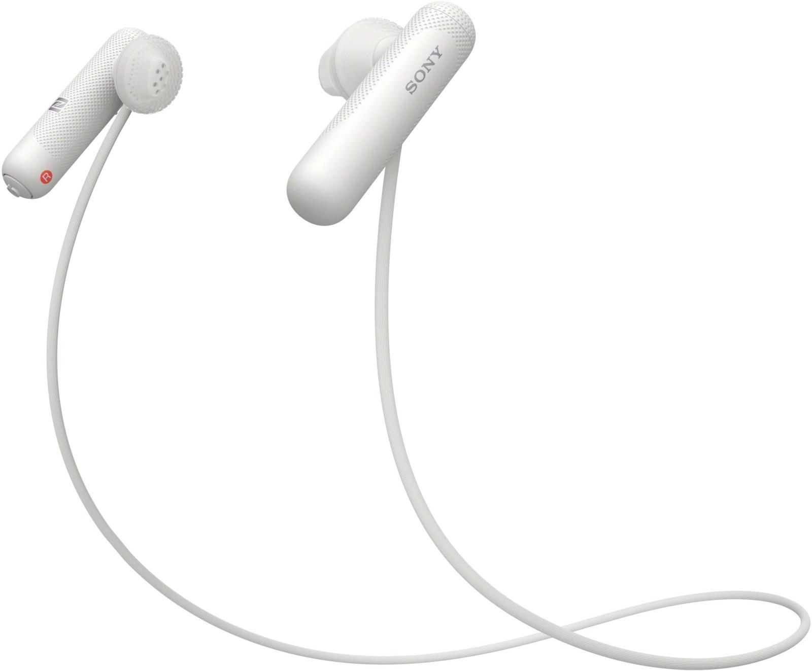 Спортивные наушники-вкладыши Sony WI-SP500, цвет белый