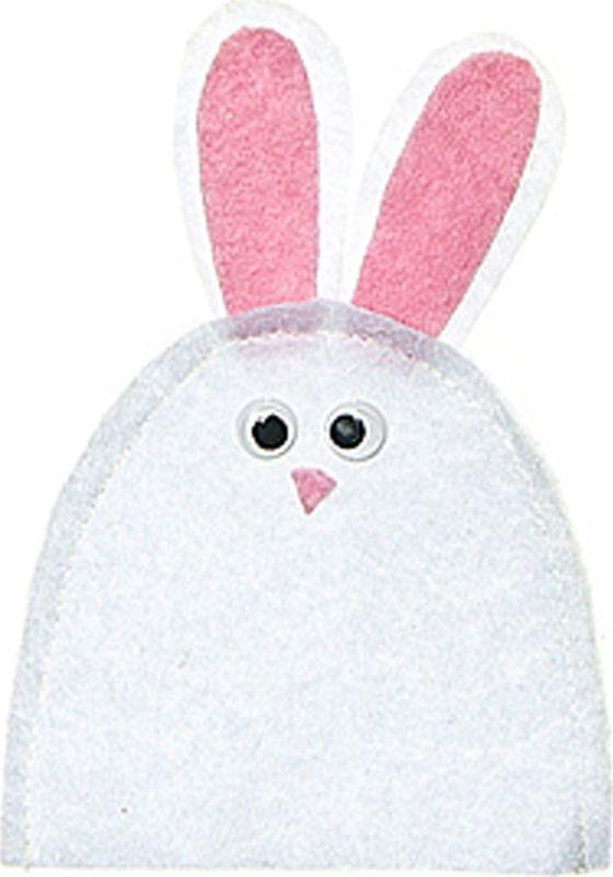 Грелка для яйца Home Queen Заяц, цвет: белый, розовый, 9 см х 12 см64520_3Грелка для яйца Home Queen Заяц изготовлена из фетра. Изделие выполнено в виде забавного зайца. Мягкая и приятная на ощупь, грелка внесет частичку тепла и веселья в ваш дом, а также станет замечательным подарком для друзей и близких. Размер: 9 см х 12 см.
