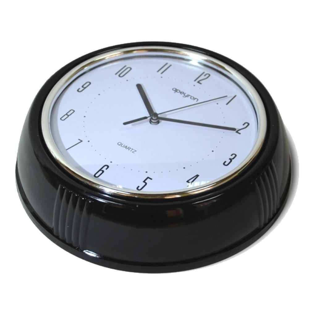 Настенные часы APEYRON electrics PL 6381, черный копилка ретро автобус 17 8 12см уп 1 12шт