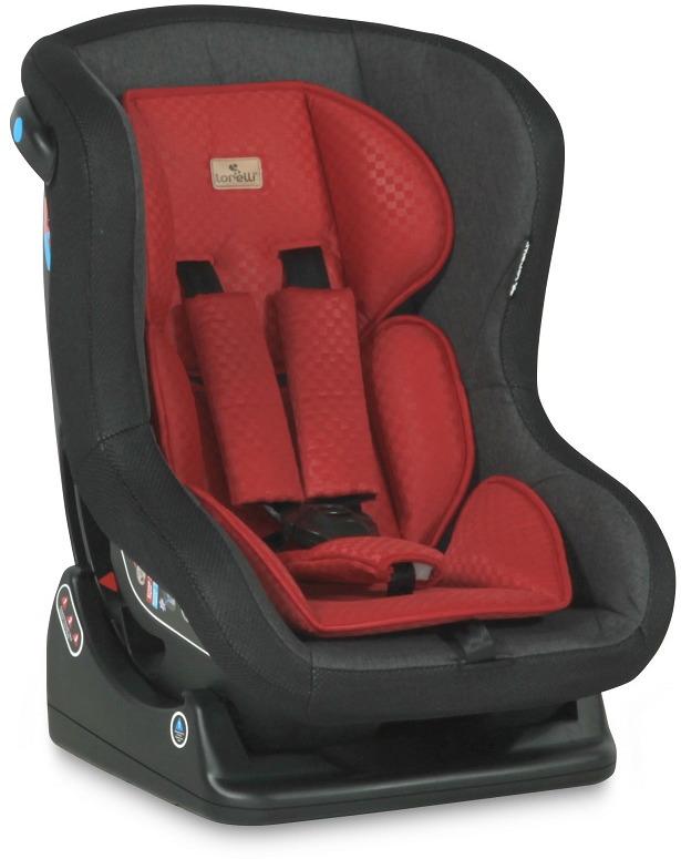 Lorelli Автокресло Saturn 0-18 кг цвет черный красный