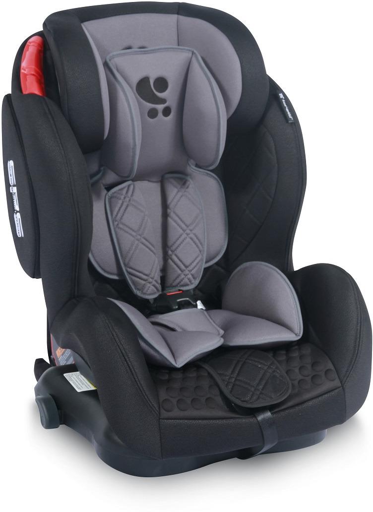 Lorelli Автокресло BH12312i Titan SPS Isofix 9-36 кг цвет черный серый цена 2017