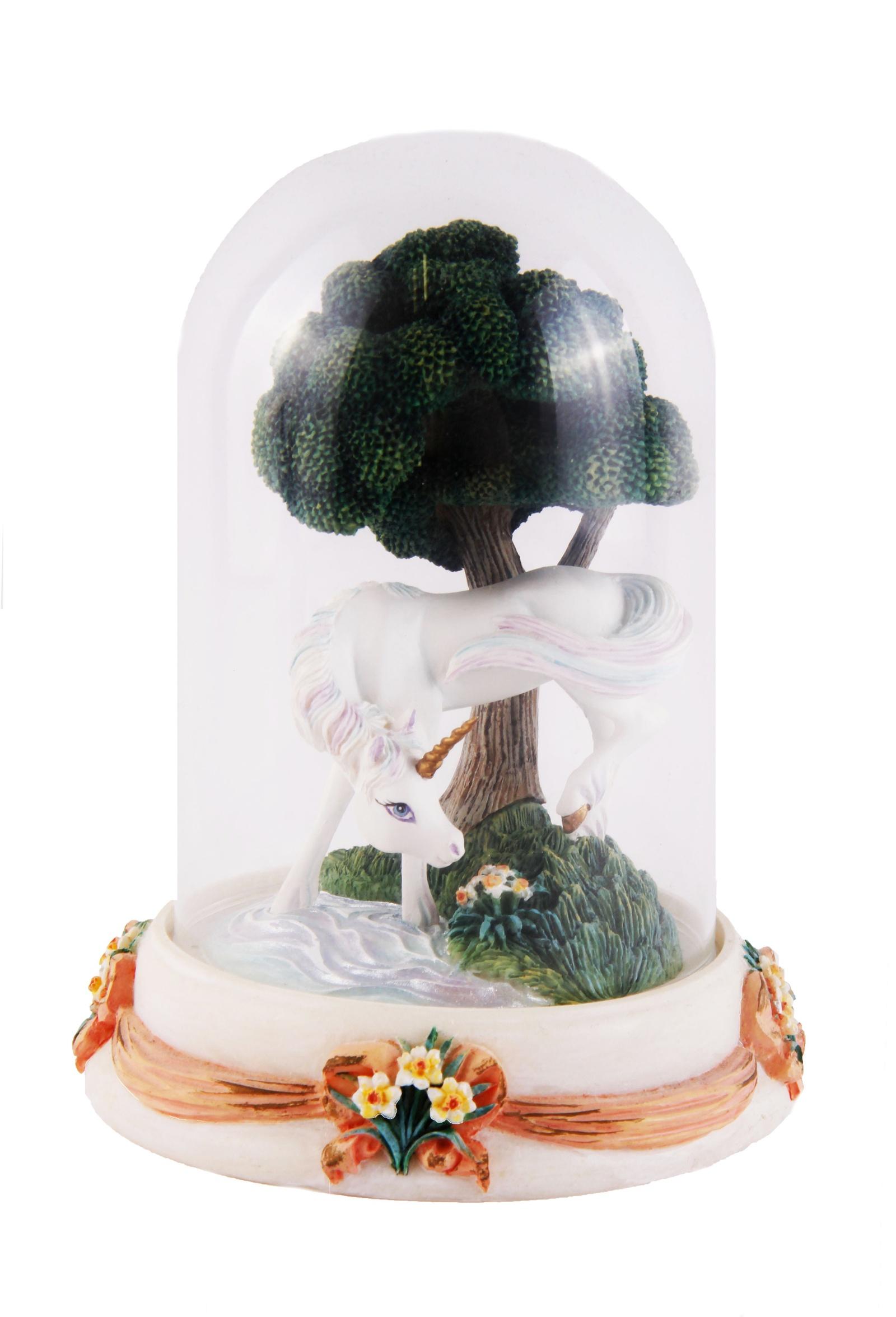 Статуэтка Franklin Mint Единорог, ОС334134, Керамика, Стекло