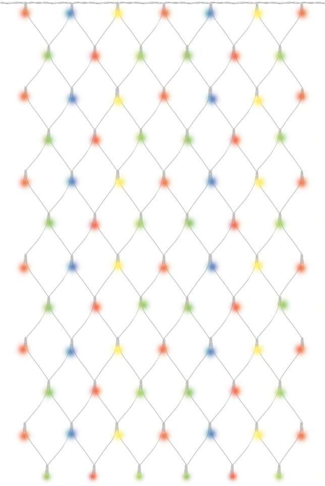 Гирлянда новогодняя TDM Electric Сеть, 1,5 х 2,5 м, RGB, наружное использование. SQ0361-0021 гирлянда тдм sq0361 0026 сосульки падающий белый свет 30см 8шт в комплекте 3 8м