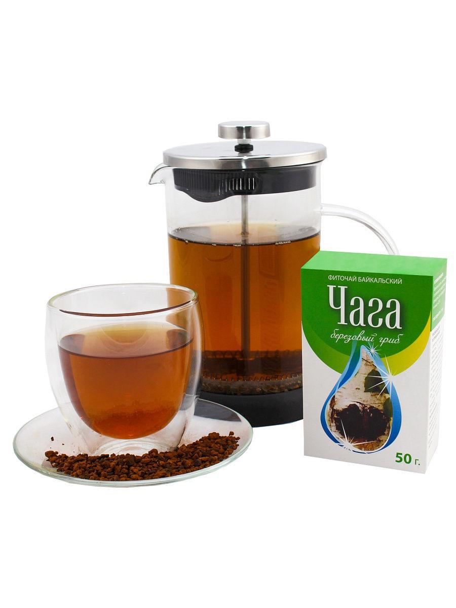 Лечебный чай Фиточаи Байкальские Чага, 50 г мосли м диета здорового желудка и кишечника
