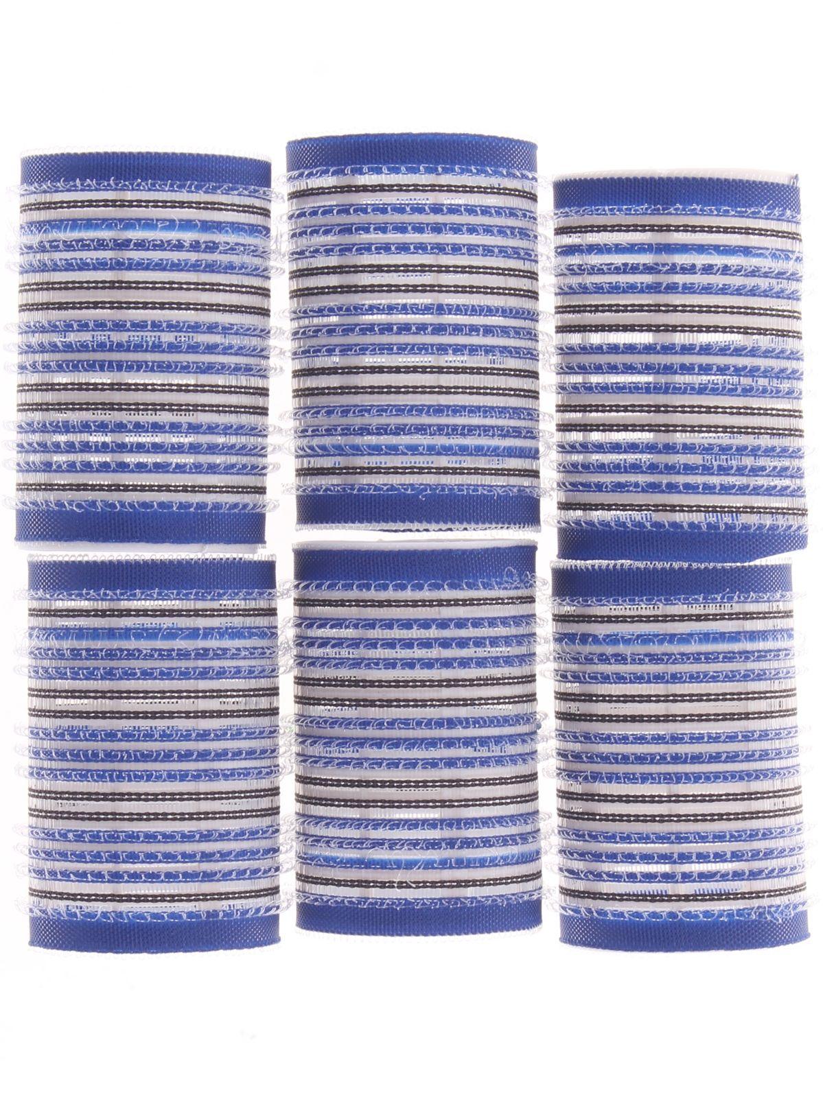 Бигуди-липучки Выручалочка, 7426936737538, диаметр 4 см, 6 шт бигуди выручалочка 7426936737293 диаметр 2 см 18 шт