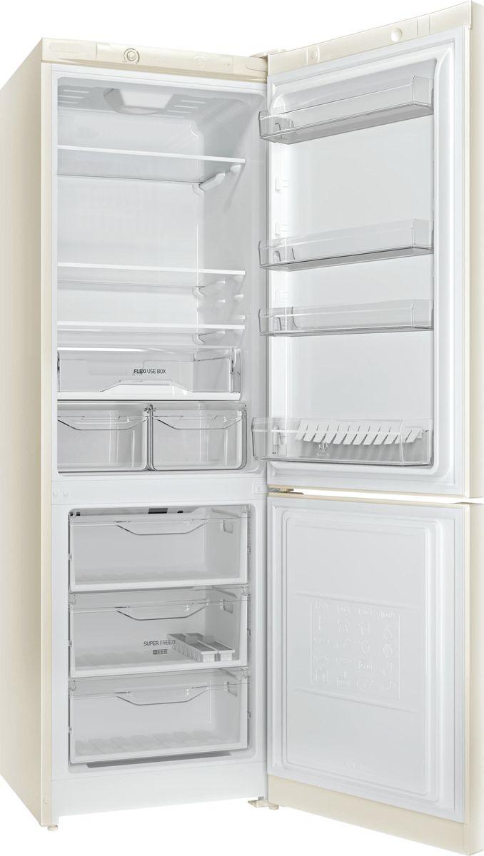 Холодильник Indesit DS 4180 E, двухкамерный, бежевый Indesit