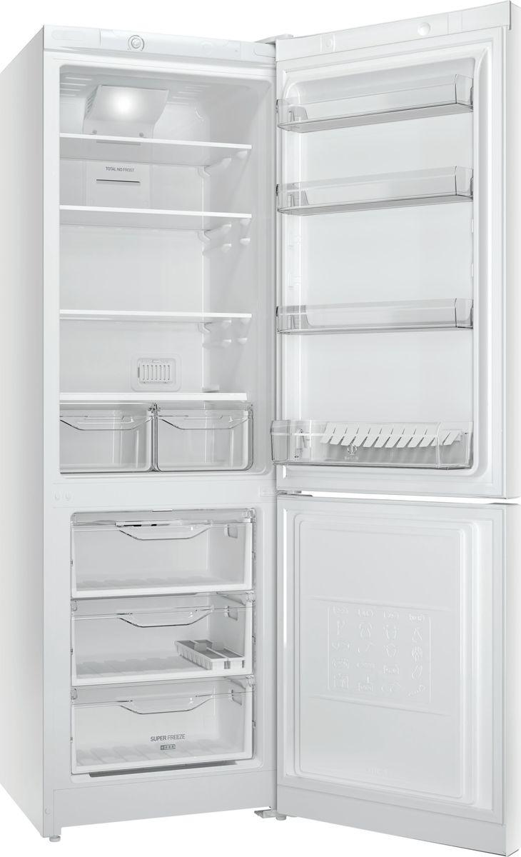 Холодильник Indesit DF 4180 W, двухкамерный, белый Indesit