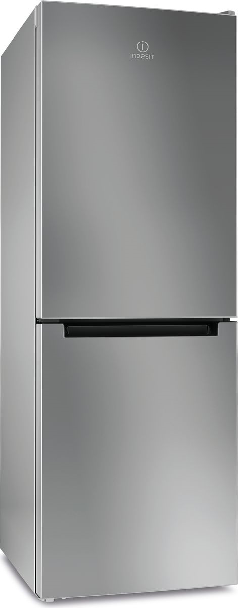 Холодильник-морозильник Indesit DFE 4160 S, серебристый