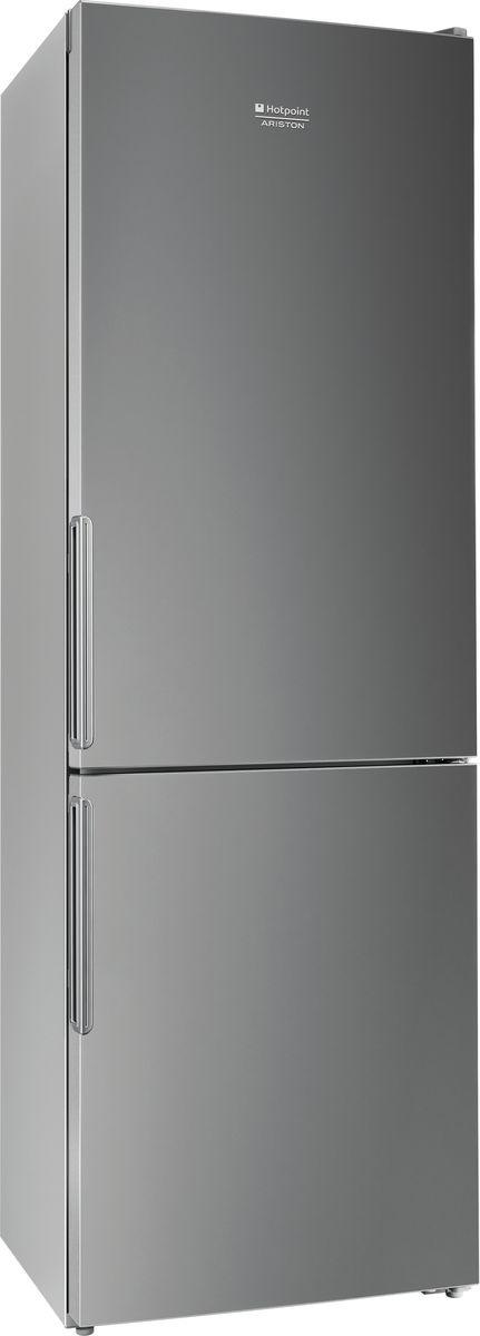 Холодильник Hotpoint-Ariston HF 4180 S, двухкамерный, серебристый металлик