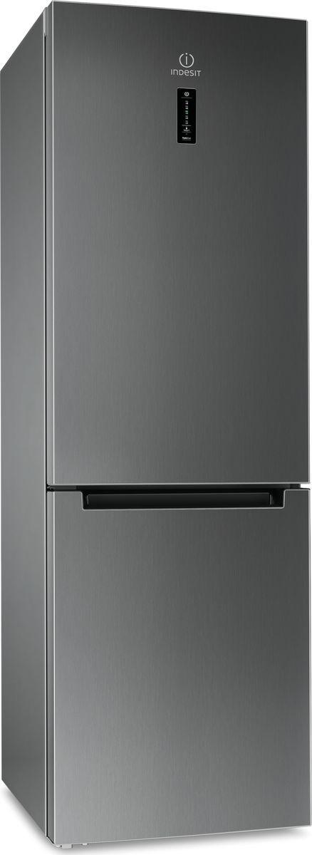 Холодильник-морозильник Indesit DF 5181 X M, нержавеющая сталь