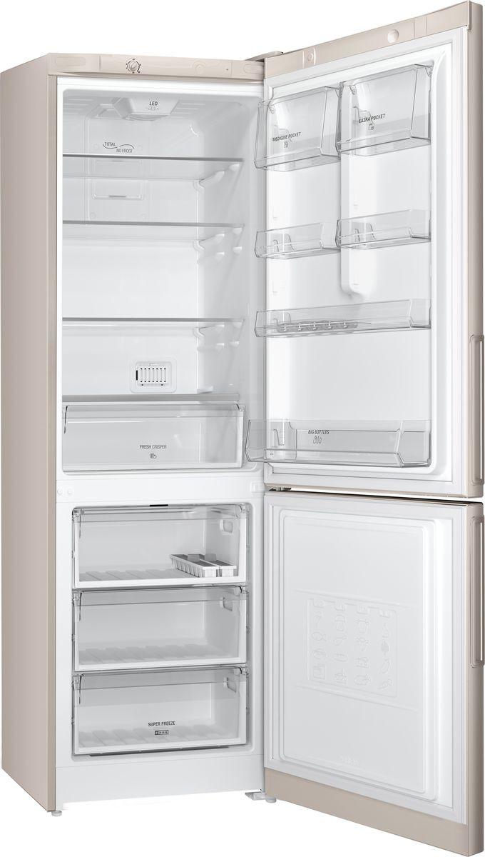 Холодильник Hotpoint-Ariston HF 4180 M, двухкамерный, бежевый Hotpoint-Ariston