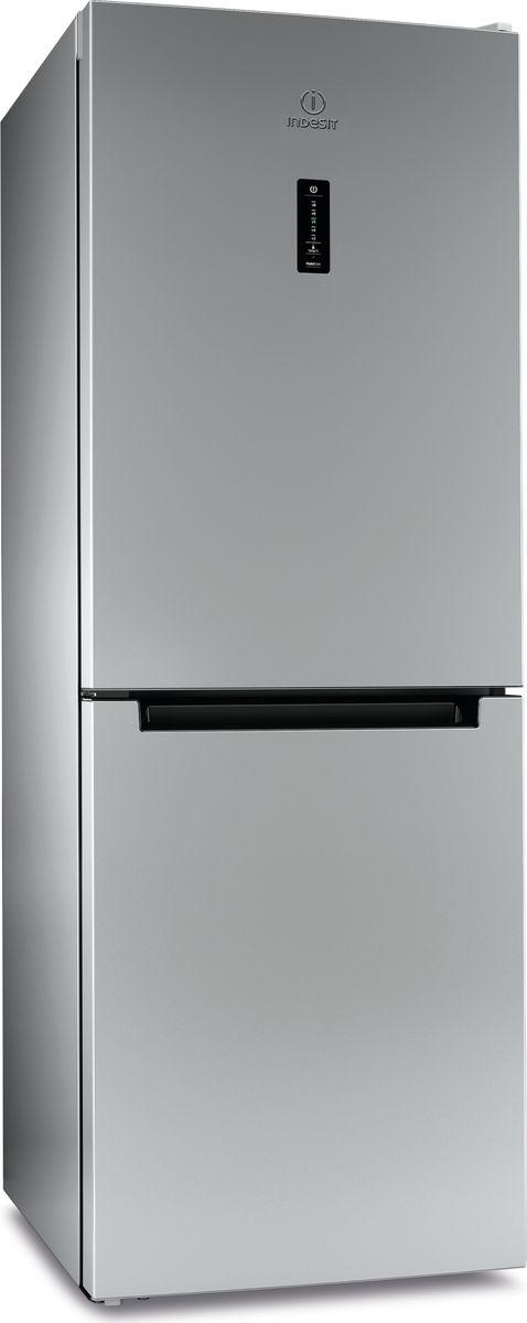 Холодильник Indesit DF 5160 S, двухкамерный, серебристый refrigerator indesit df 5160 s