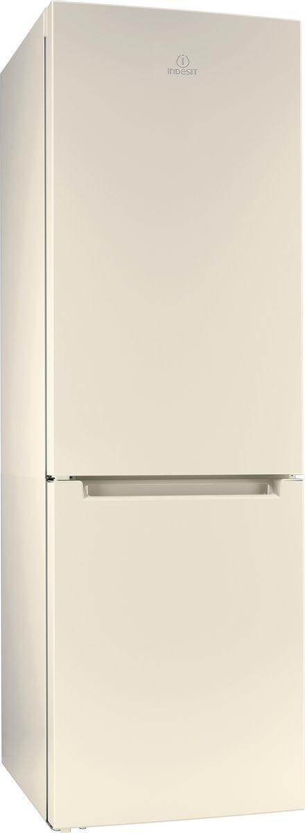 Холодильник Indesit DF 4180 E, двухкамерный, бежевый холодильник с нижней морозильной камерой indesit ds 4160 e
