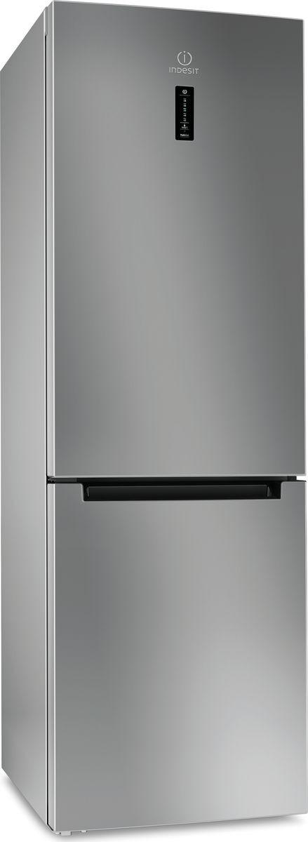 Холодильник-морозильник Indesit DF 5180 S, серебристый