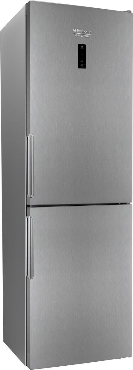лучшая цена Холодильник Hotpoint-Ariston HF 5181 X, двухкамерный, нержавеющая сталь