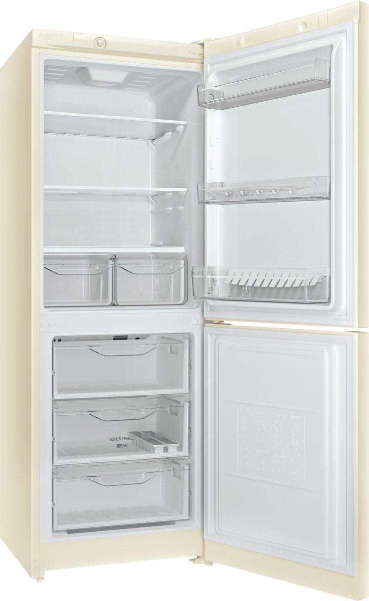 Холодильник Indesit DS 4160 E, двухкамерный, бежевый Indesit